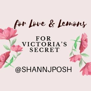 FOR LOVE & LEMONS x Victoria's Secret Tag List